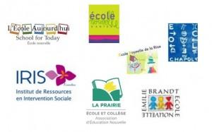 Logos de tous les établissements adhérents
